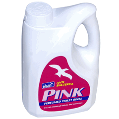 Elsan Pink (2Litre) perfumed toilet fluid