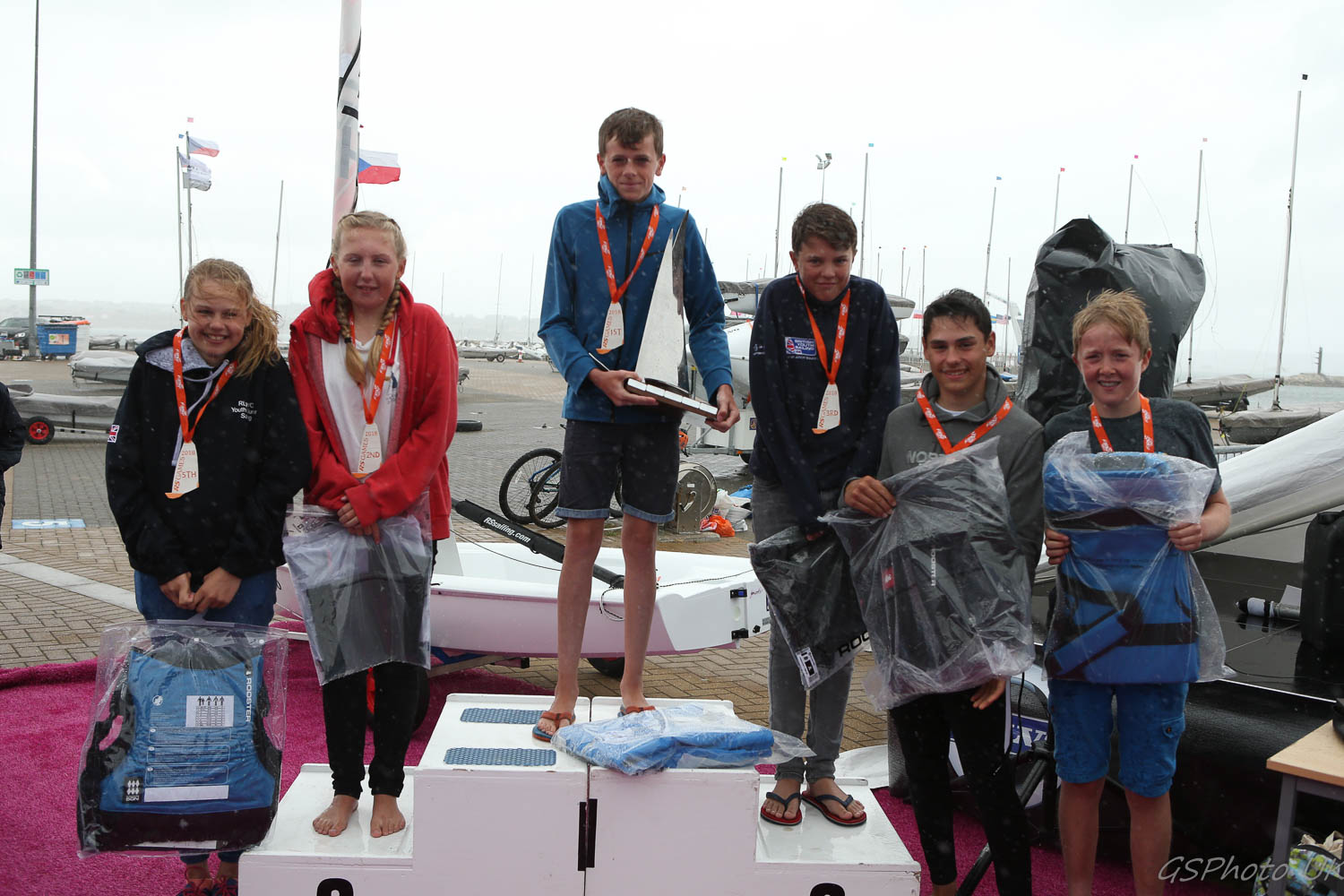Beth Miller Sailing, 2nd overall, RS Tera Pro Worlds 2018