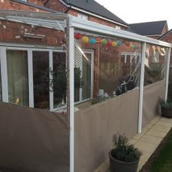 outdoor BBQ shelter